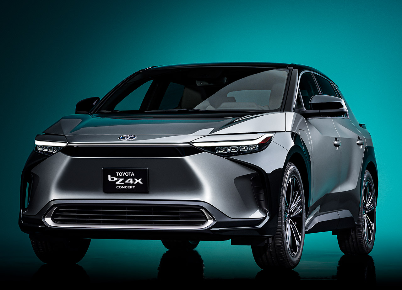 Toyota bZ4X Electric SUV Concept