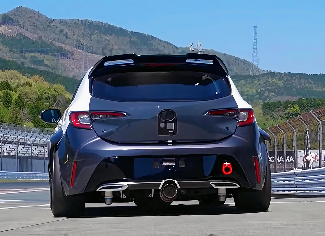 Toyota Corolla Hydrogen Combustion Engine Race Car
