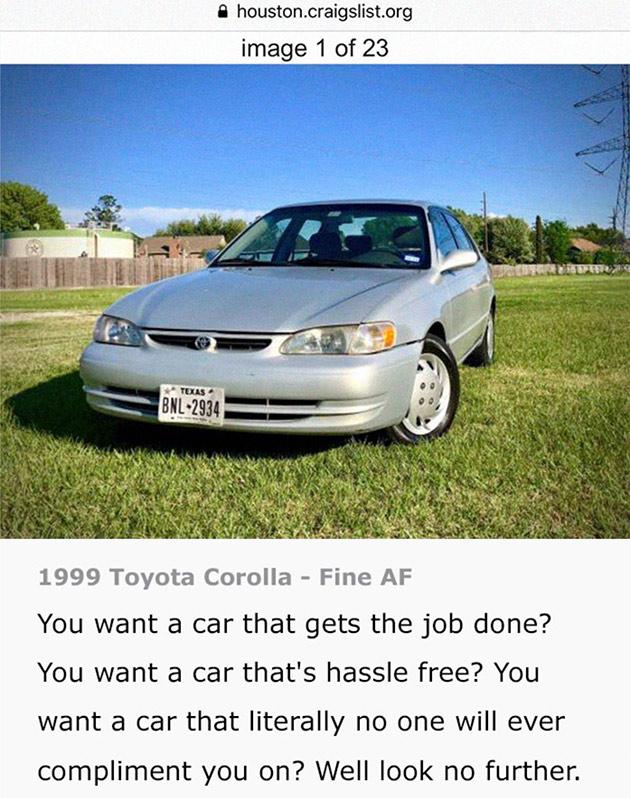 Toyota Craigslist