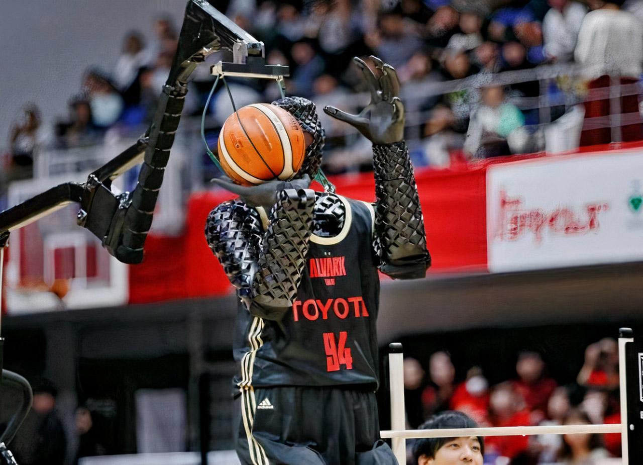 Toyota Cue 4 Robot Half CourtTokyo 2020 Olympics