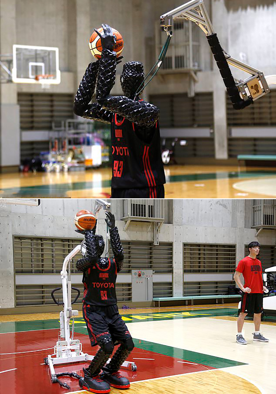 Toyota CUE 3 Basketball Robot