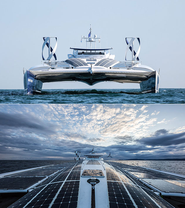 Toyota Energy Observer Hydrogen Ship
