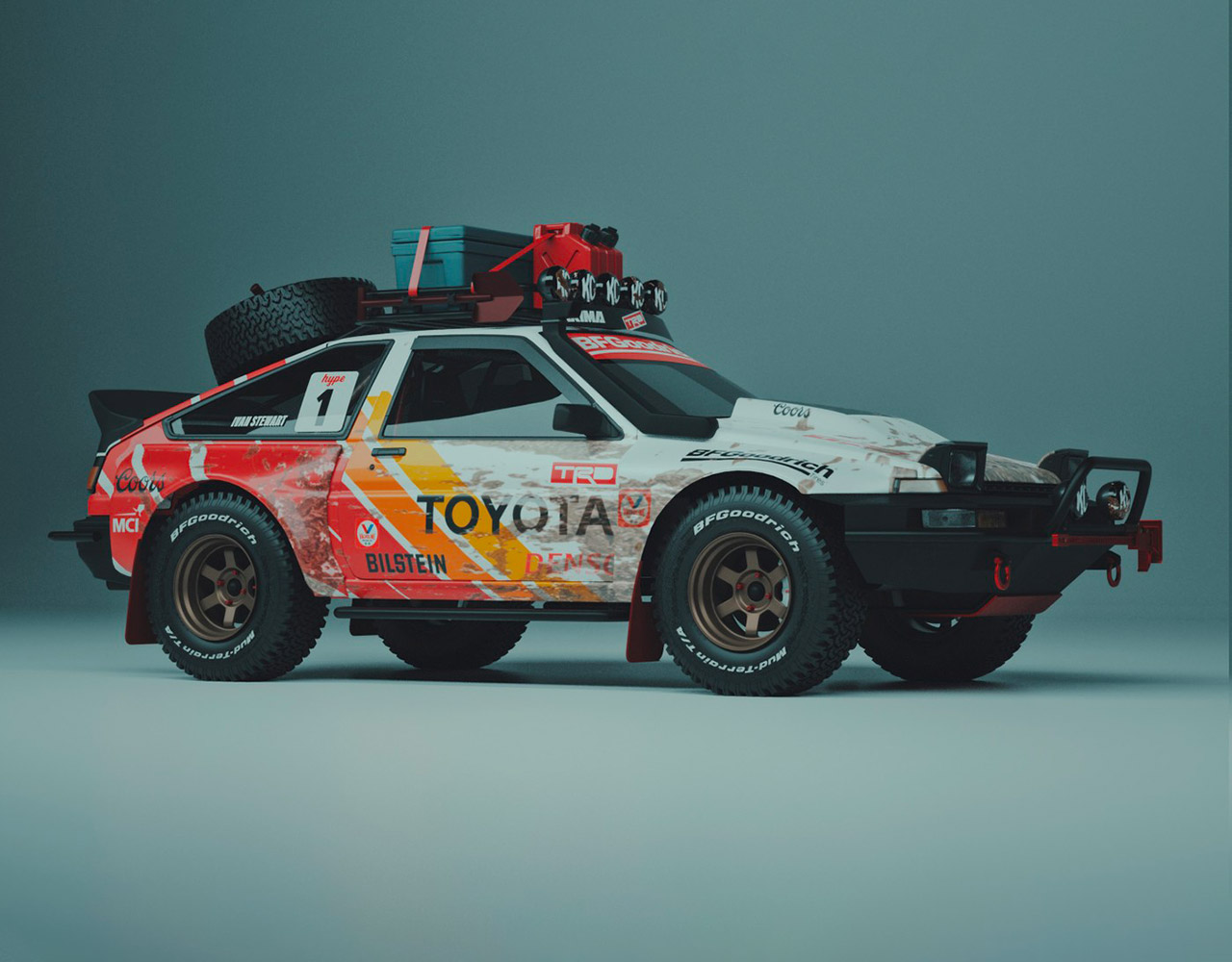 Toyota Pandemic AE86 Off-Road Edition