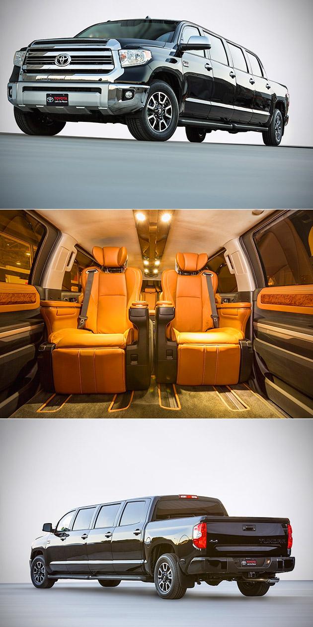Toyota Tundrasine Pickup Limousine