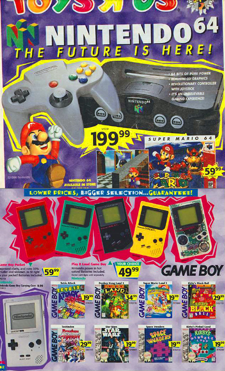 Toy R Us Store Catalog : Rare look inside a toys quot r us holiday catalog from
