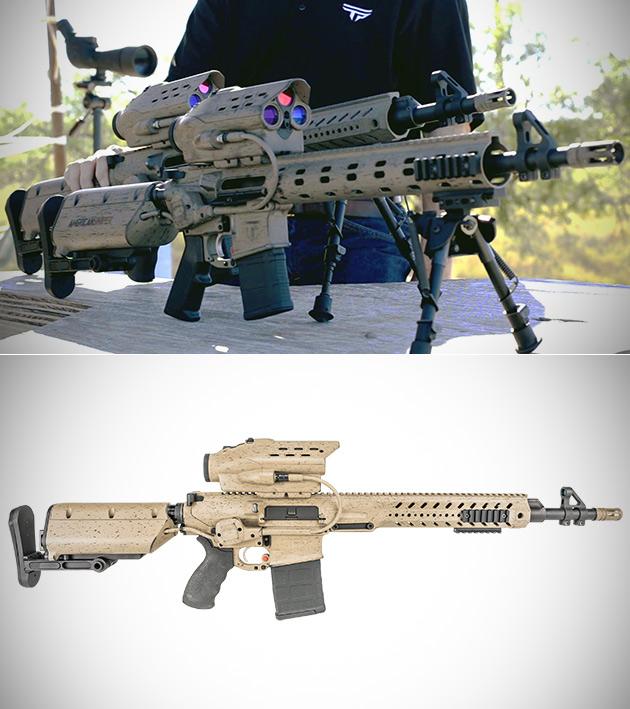 TrackingPoint Squad-Level Rifle