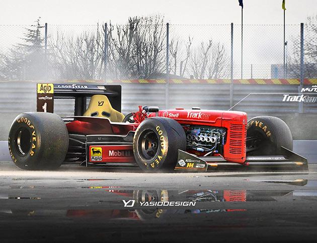 Tractor Formula 1