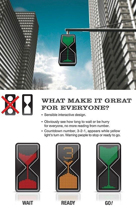 future designs lighting. Don\u0027t You Just Coming Up To A Traffic Light Only For It Have Turned Yellow? Can Take Out The Guesswork With Hourglass LED Design See Future Designs Lighting