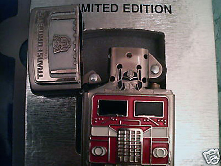 Ebay Watch 3 000 Limited Edition Optimus Prime Zippo
