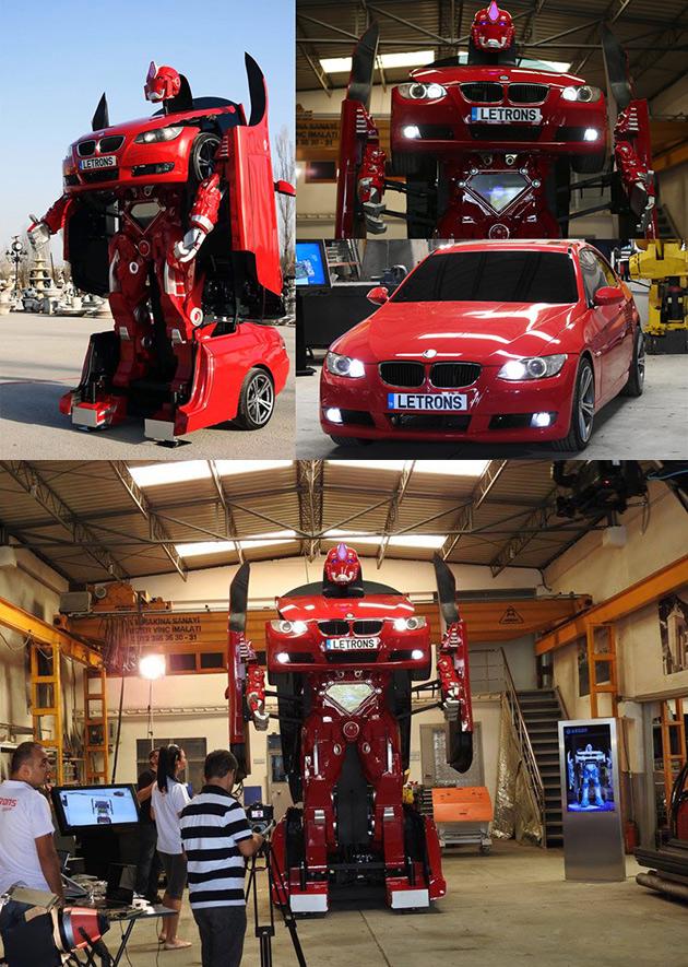 Letrons Transforming BMW Robot
