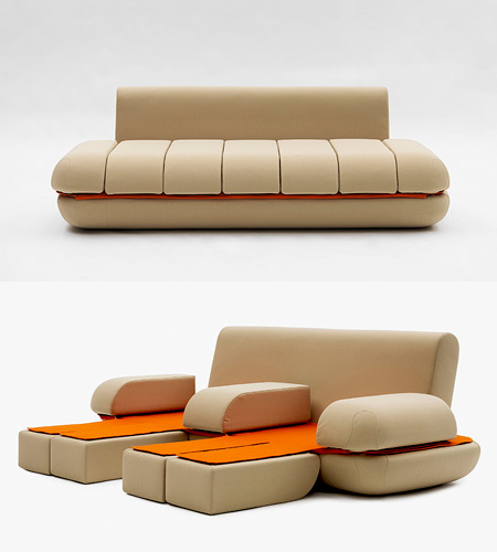 Superb Awesome Touchpad Controlled Transforming Sofa