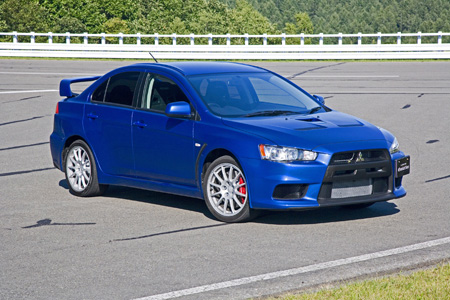 Lancer Evolution X GSR and