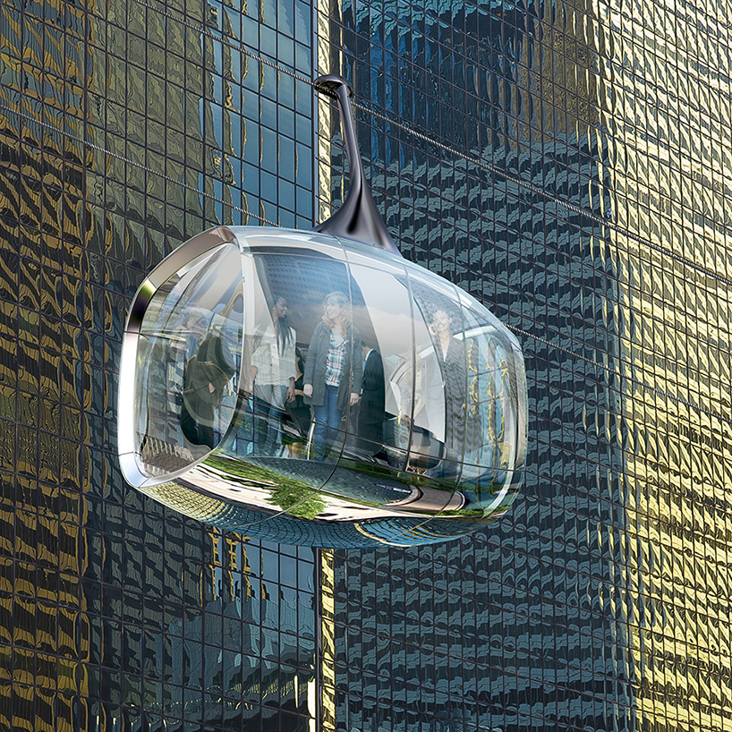 Transparent Cable Car Chicago