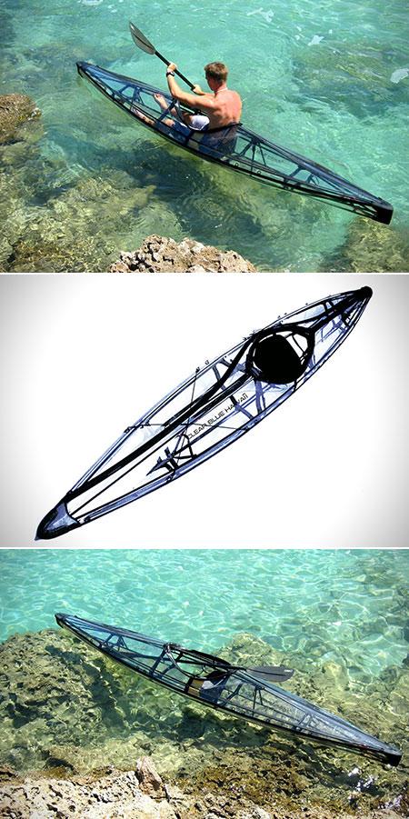 Transparent Folding Kayak