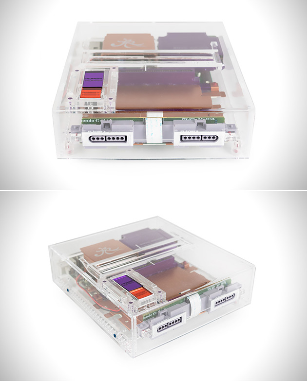 Transparent SNES Reimagined