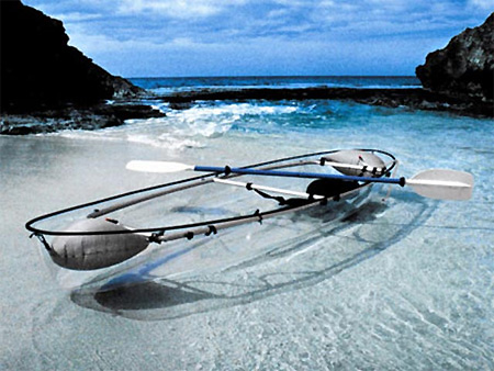 Transparent Canoe
