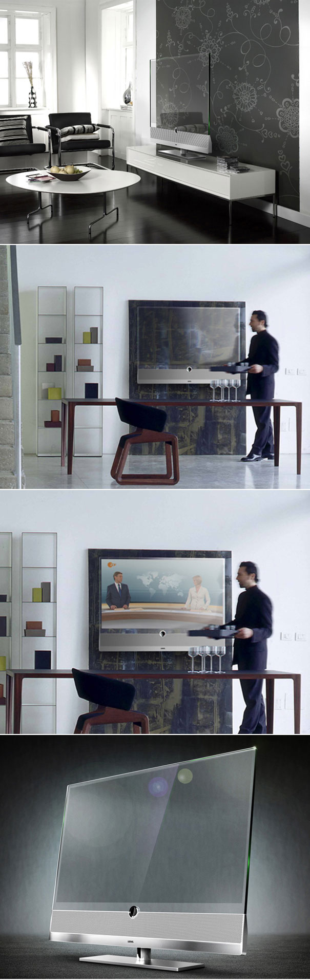 Transparent TV