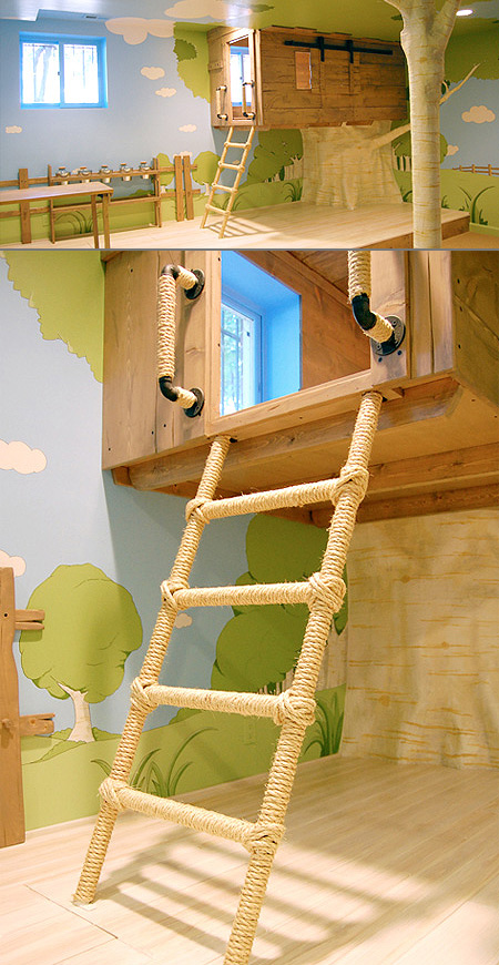 Treehouse Bedroom Might Be the World's Coolest - TechEBlog