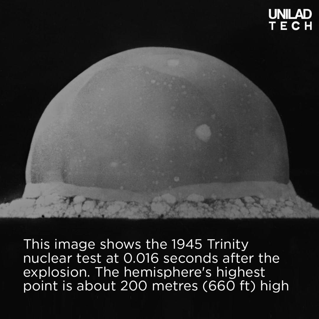 Trinity Nuclear Bomb Photo