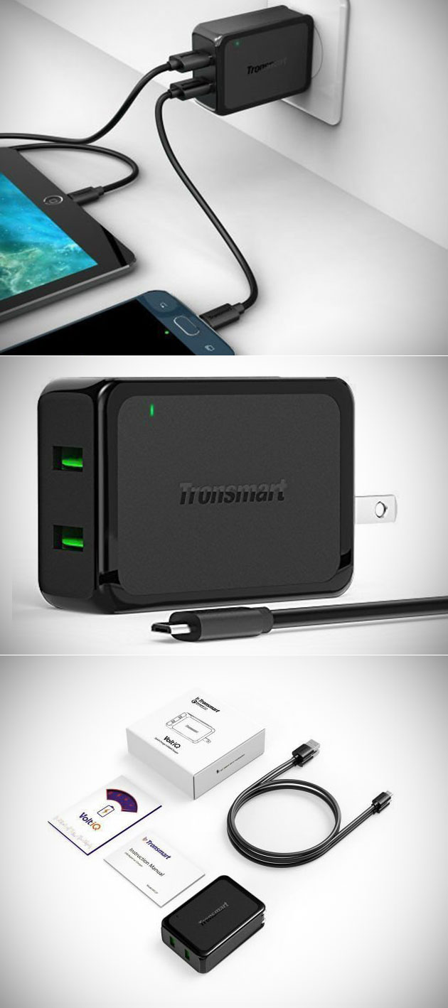Tronsmart Dual USB Charger