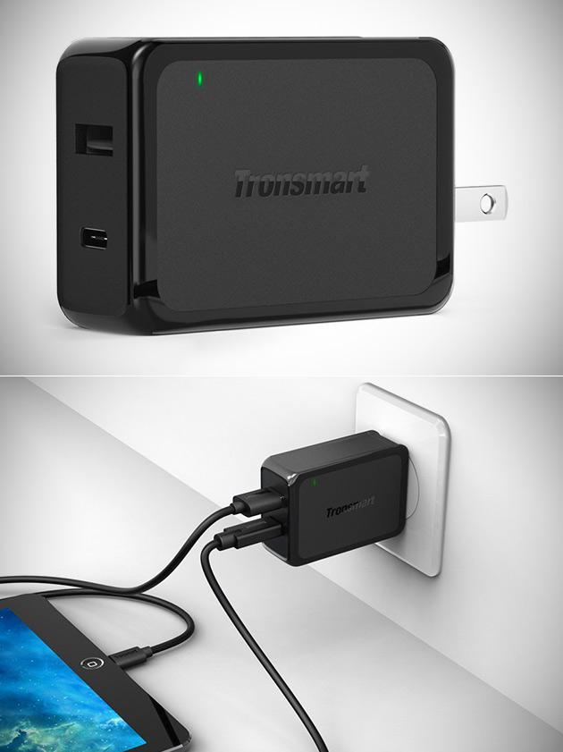 Tronsmart 30W Dual USB Wall Charger