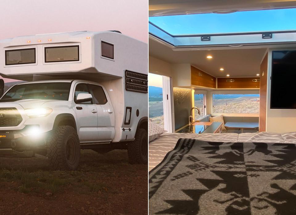 TruckHouse BCT Toyota Tacoma Luxury Expedition Vehicle Motorhome