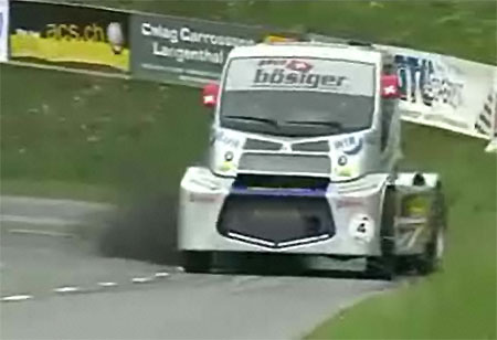 Auto Racing Radar on In This Clip  You Ll See  Markus Boesiger  2007 S Truck Racing