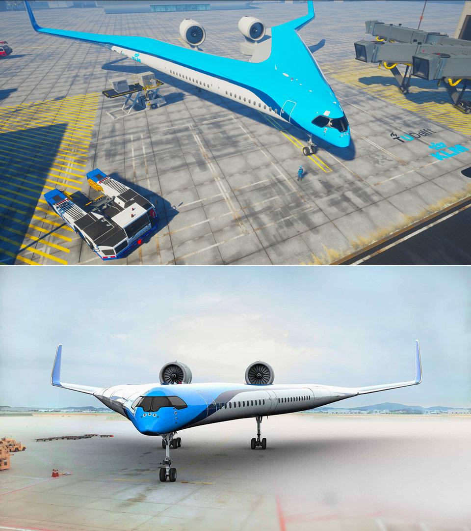 TU Delft Flying V Aircraft