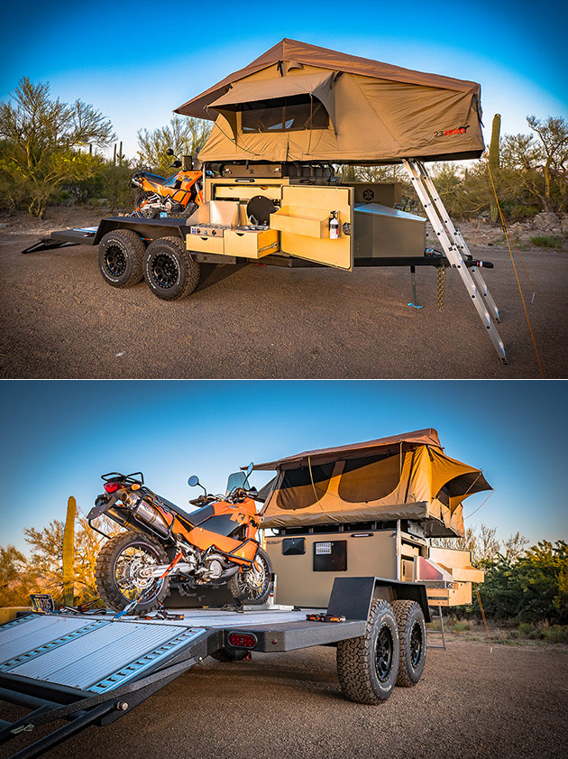 Turtlebacker Camper Trailer