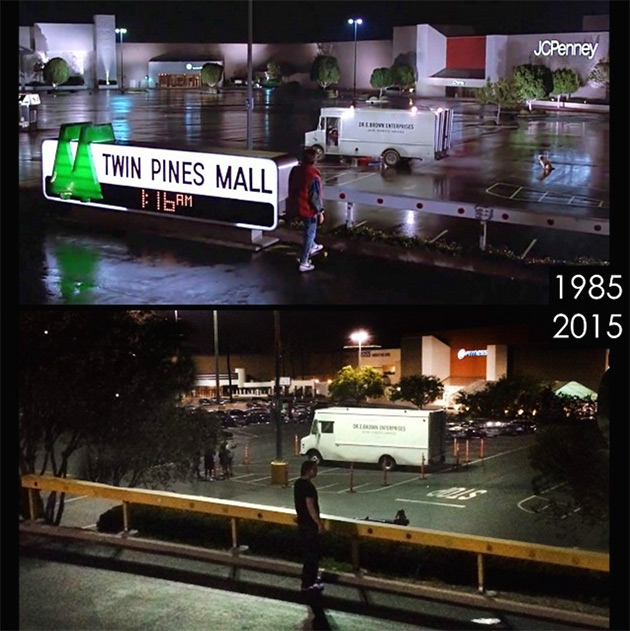 Twin Pines Mall Back to the Future
