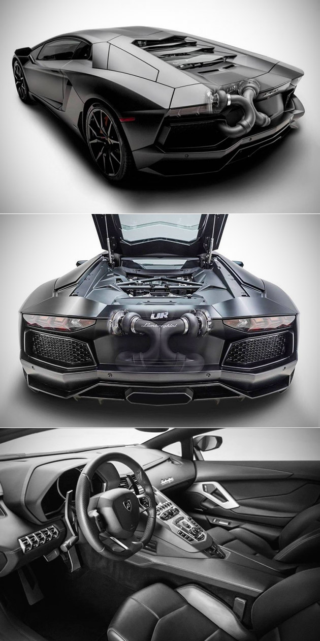 Twin-Turbo Lamborghini Aventador