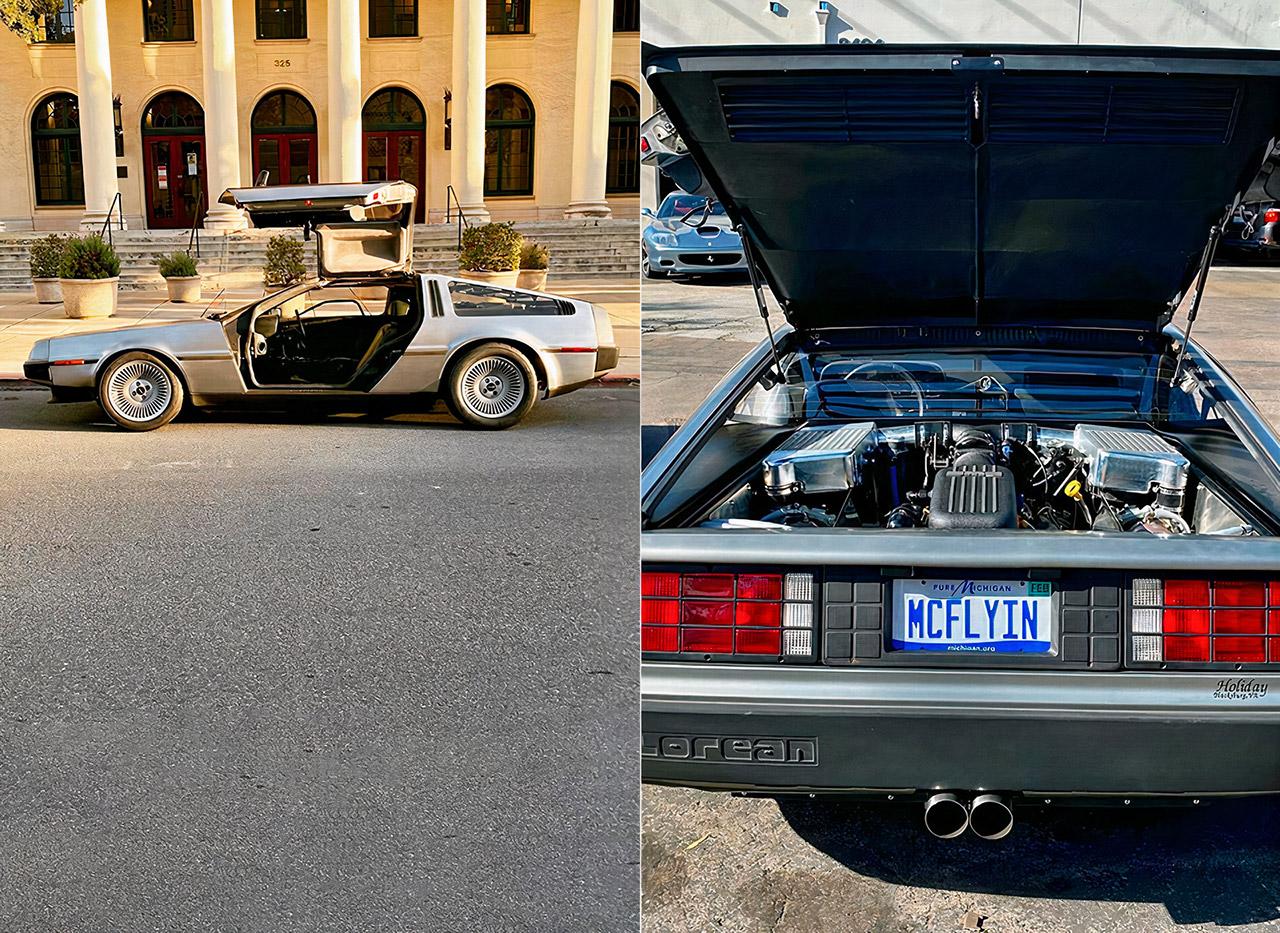 Twin-Turbo DeLorean DMC-12