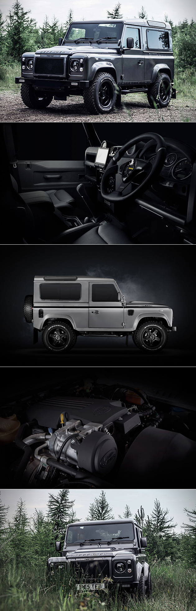 Twisted Automotive Land Rover Defender