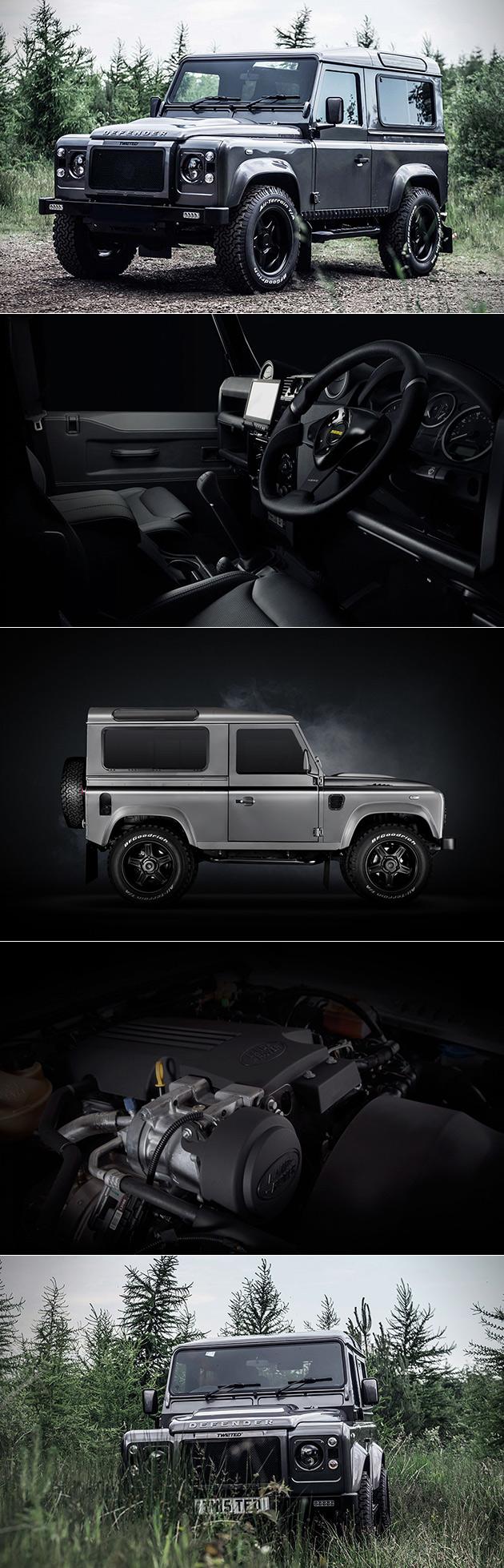 Tordu de l'Automobile a Pris un Land Rover Defender 90 et l'a Transformée En Élégante T80