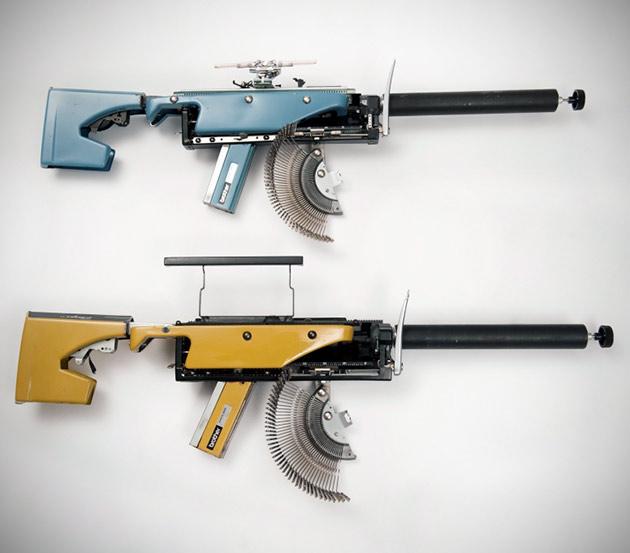 Typewriter Gun
