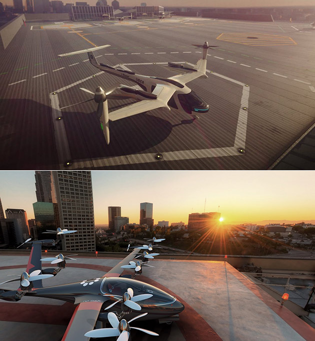 Uber Air Flying Taxi