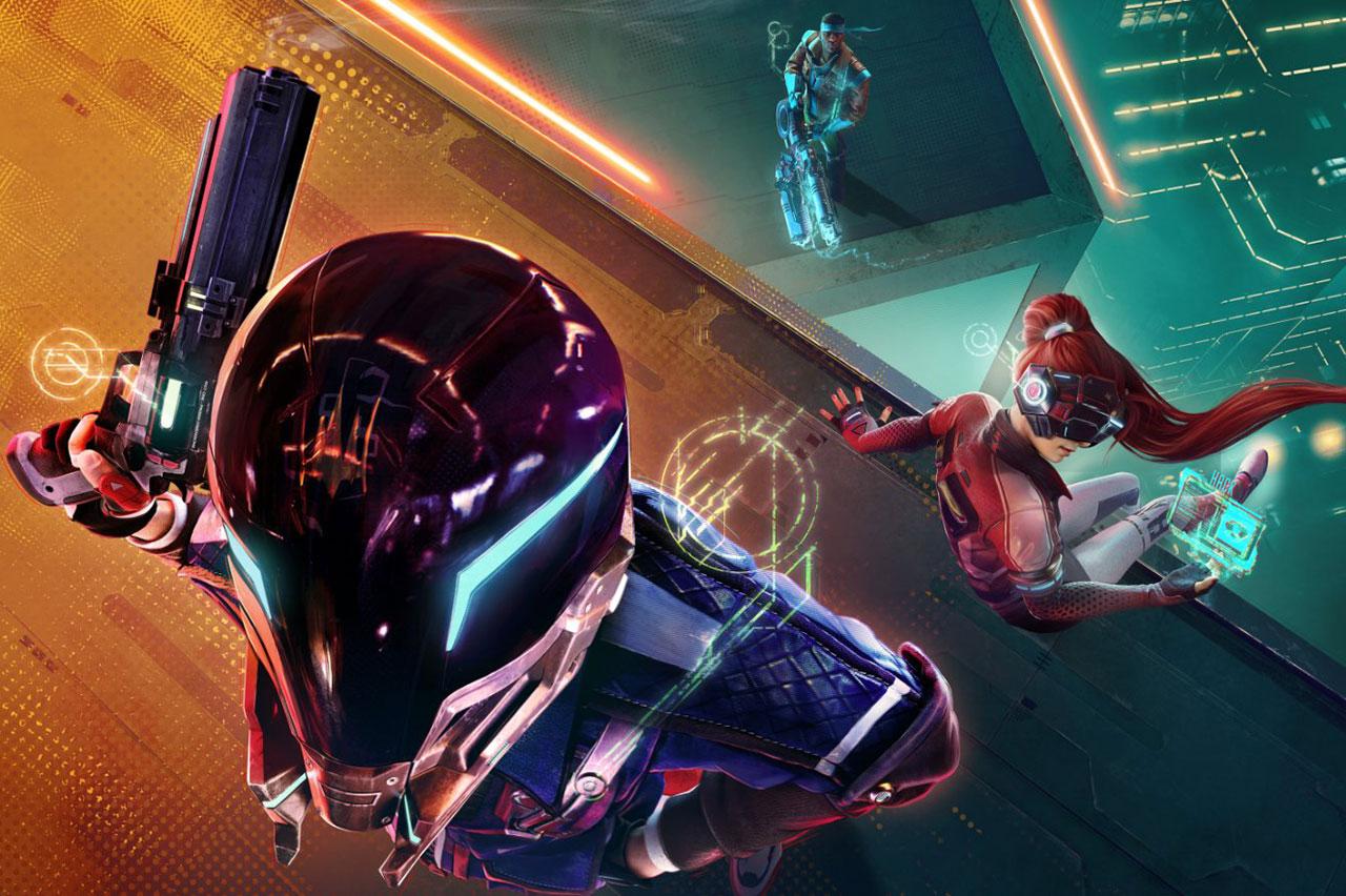 Ubisoft Hyper Scape Battle Royale Game