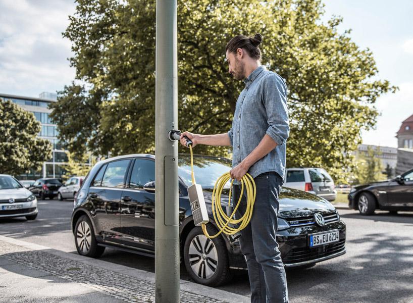 Ubitricity Car Charging
