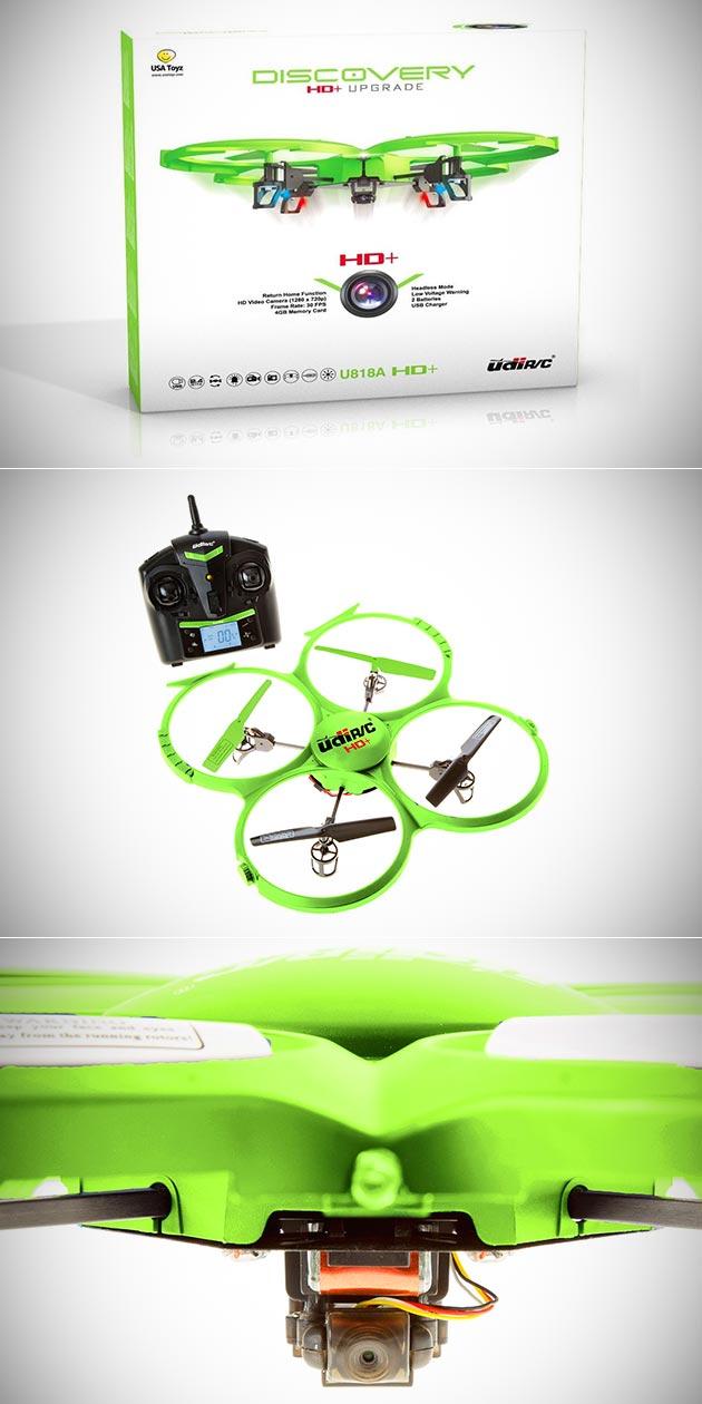 UDI U818A HD+ Drone