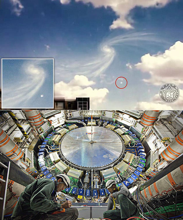 UFO Large Hadron Collider