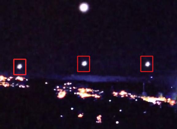 UFO Orb Formation