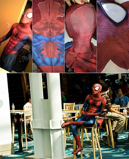 Geek Spends $600 Building the Ultimate Spider-Man Suit & Geek Spends $600 Building the Ultimate Spider-Man Suit - TechEBlog