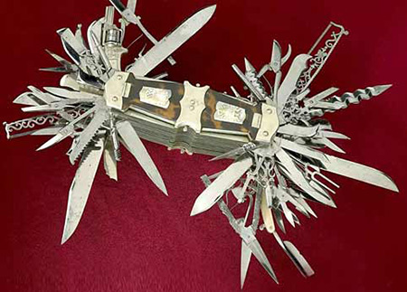 5 Pictures Of The Ultimate Swiss Army Knife Has 100 Tools