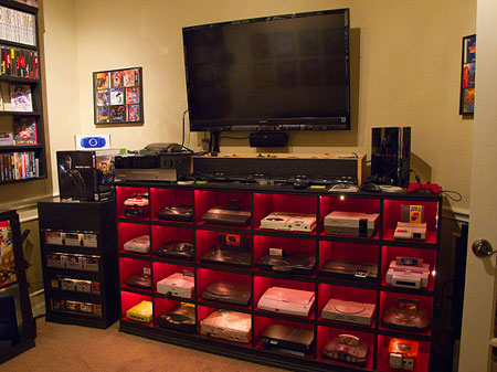Ultimate Video Game Room Includes Nearly Every Console