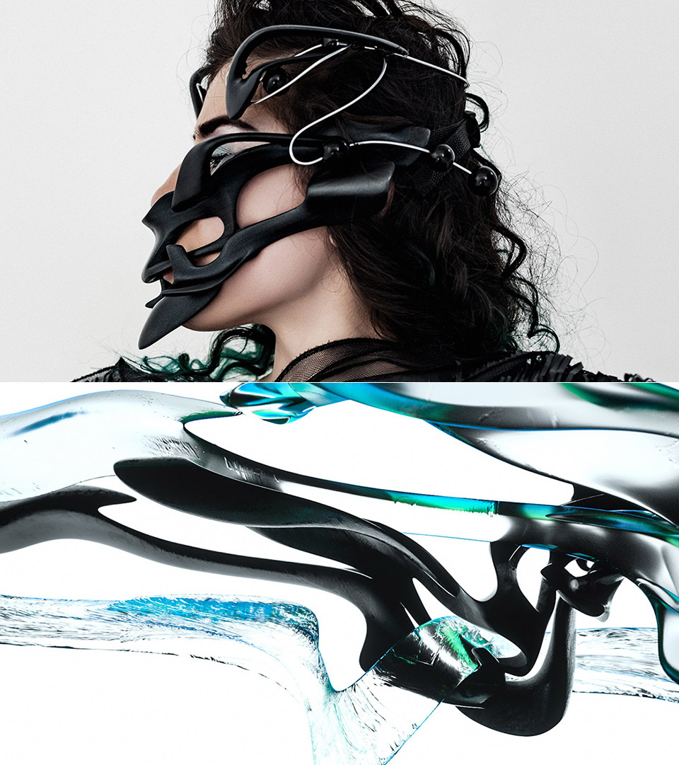 Ultramodern Mask Neurointerface Device