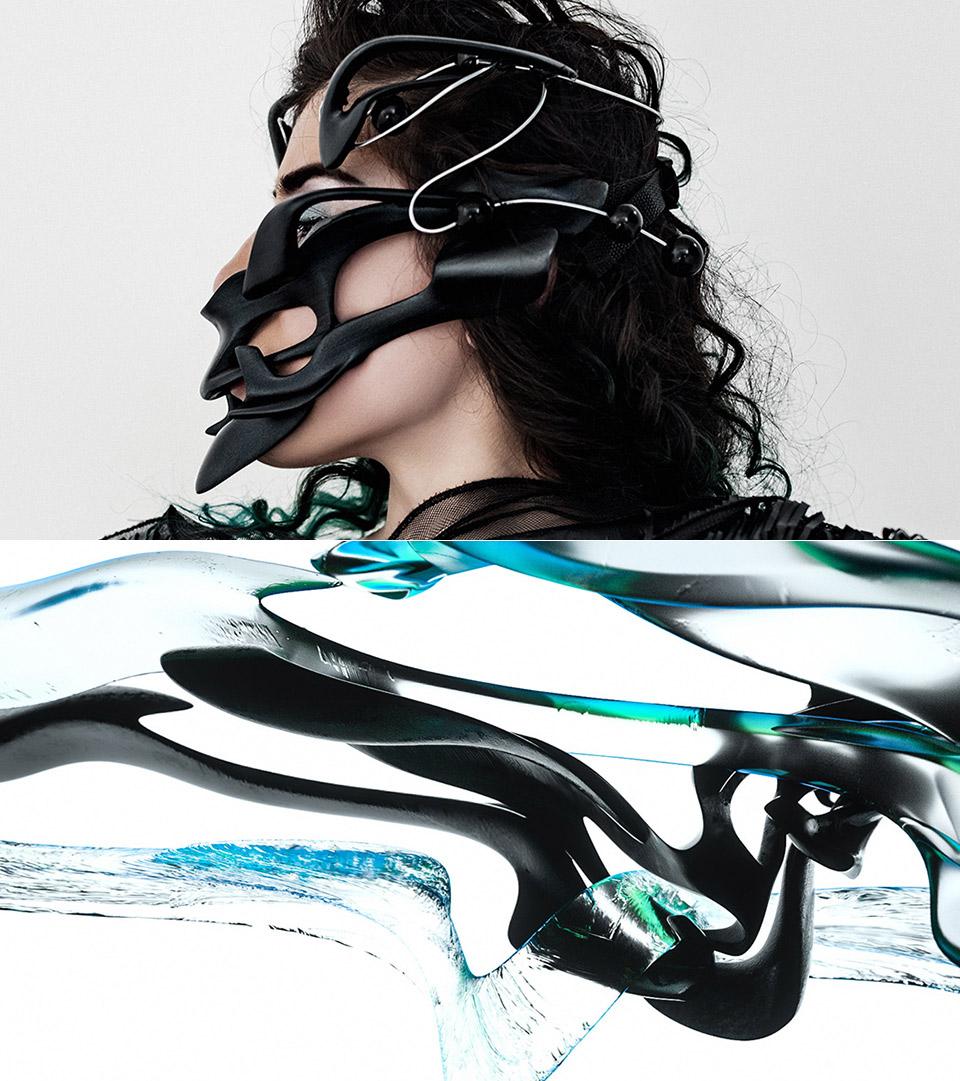 Ultramodern Mask Neurointerface Device