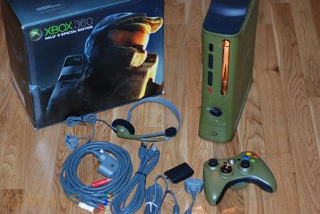 Xbox 360 console halo 3 special edition 20gb 8e w/ hdmi +.