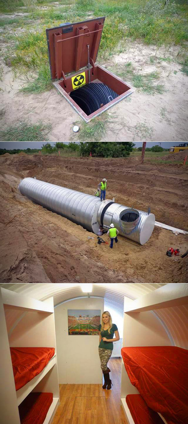 Underground Bomb Shelter
