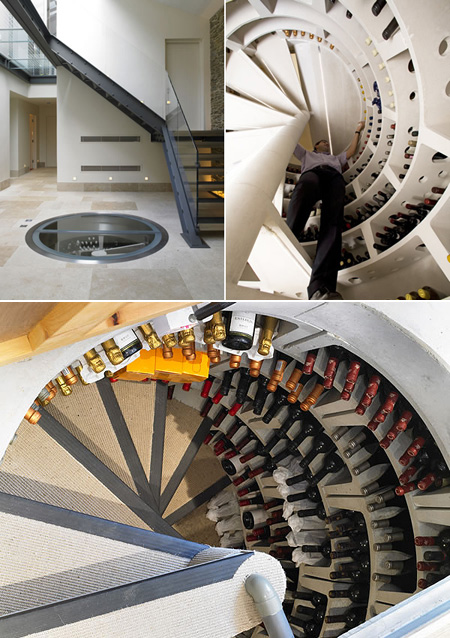 Underground Wine Cellar With Spiral Staircase Might Be Worldu0027s Coolest