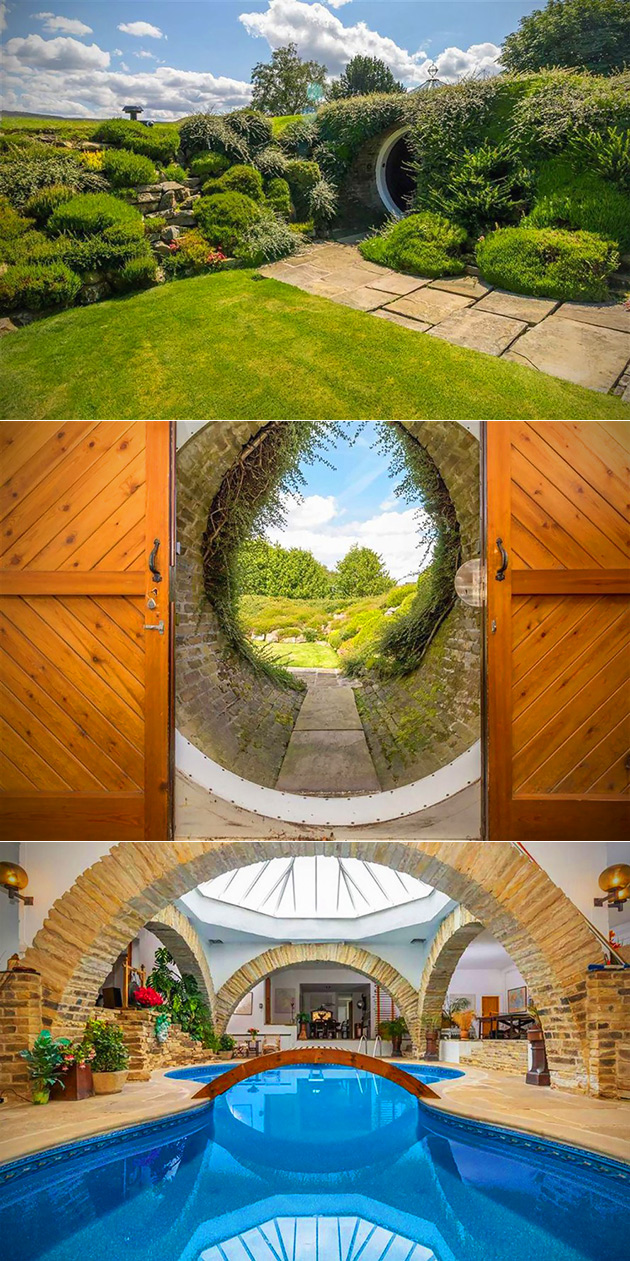 Underhill Hobbit Home